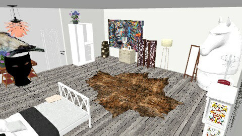 room art  - Rustic - Bedroom - by nico3