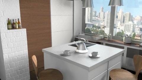 Love In The Kitchen  - Modern - Kitchen - by annagunbina