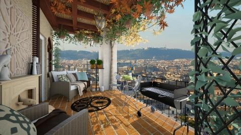 balcony - Modern - by sometimes i am here