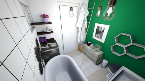 My  - Living room - by klaudynazwiazek