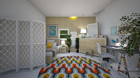 lkolfdee - Eclectic - Bedroom - by yamz