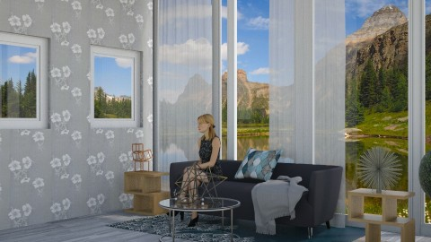 Grays Galore - Modern - Living room - by gtenenbaum1