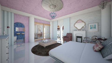 Valentine room - Eclectic - Bedroom - by mrschicken