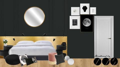 DARK CLASSIC BEDROOM IIv3 - by IDStudio