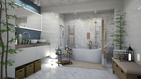 IP Terrazzo Bathing - Modern - Bathroom - by rungsimas