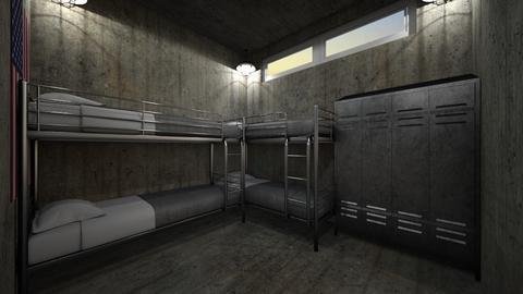 Squad Room - Bedroom - by SammyJPili