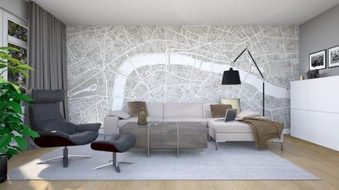 Nachher HIMTERIOR - Modern - Living room - by HOMEMANUFAKTUR