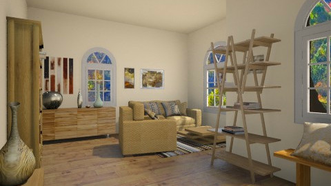 browncrema - Country - Living room - by PAULA avila