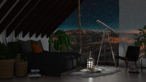 Mountain Serenity - Bedroom - by millerfam