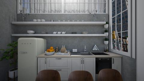 Casa188Kitchen - Classic - Kitchen - by nickynunes