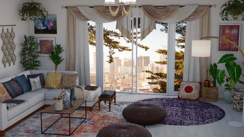 Boho Living Room - Living room - by kyrabaldwin