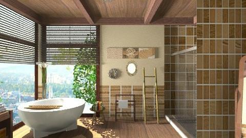 treehouse - Bathroom - by dina_szab
