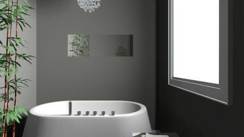 ash - Glamour - Bathroom - by inki squid
