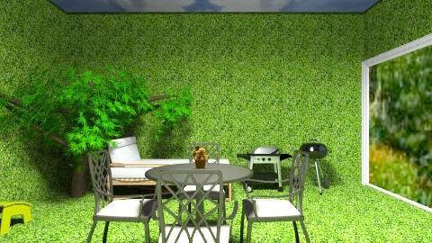 1 - Minimal - Garden - by belliciaa
