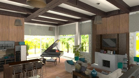 Carmen - Country - Living room - by KittiFarkas