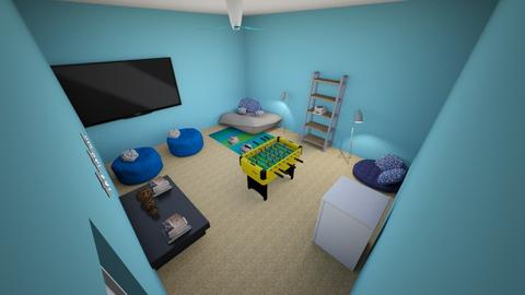 club house room hospital - Living room - by planet1836