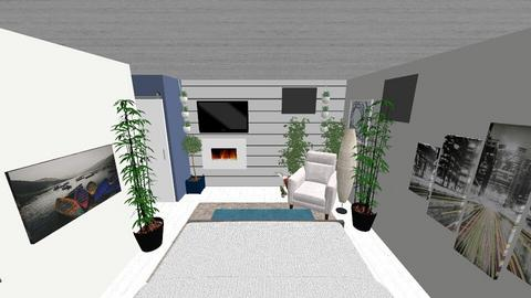 Basement Master 2 - Country - Bedroom - by JaysonKarrie