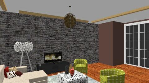 Functional yet sleek - Modern - Living room - by enn_g