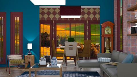 Checkmark - Classic - Living room - by Jessica Fox