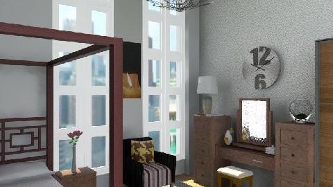 NY Space - Rustic - Bedroom - by jackiefruit