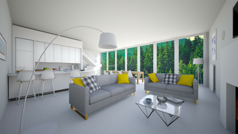 white scandinavia - Minimal - Living room - by franciss