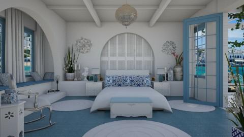 Design 339 Mediterranean White - by Daisy320