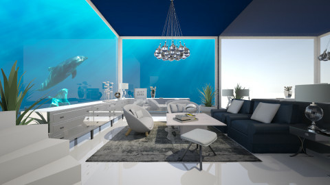 Under the sea - Modern - Living room - by Lucii