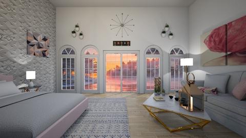 Design 13 MWAH - Glamour - Bedroom - by michellitamuralles
