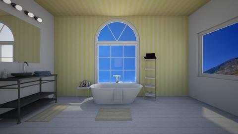 Living in Yellow - Bathroom - by dizzymango