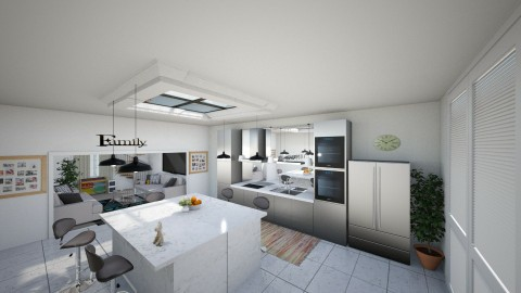 Family Kitchen - by summer21