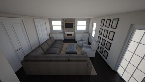 Steve Libby Addition - Living room - by elizabeth_mccreight