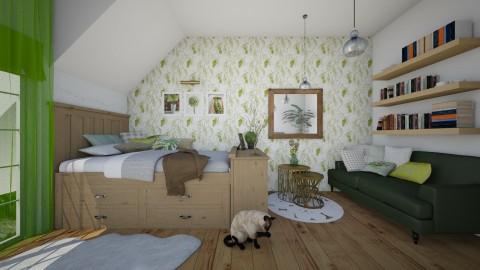 Pinus Nigra - Rustic - Bedroom - by Sali15