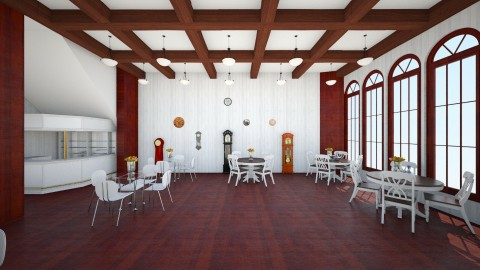 Little_Restaurant_ - Classic - Dining room - by linnda123222