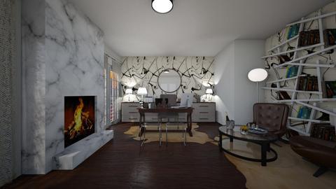 cozy office  - by seldina