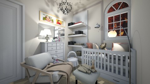Baby  - Kids room - by NikolinaB26