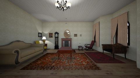 Vintage Home 1920s - Living room - by WestVirginiaRebel