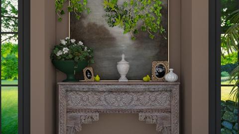 My Dear - Living room - by Miflower