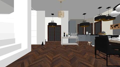 domus 1 - Living room - by majli042