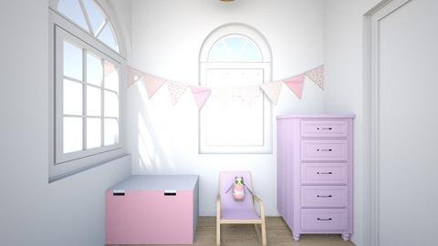 Pink Nursery  - Kids room - by TionnaJ