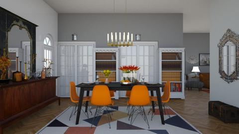 Eclectic Dining Room - Eclectic - Dining room - by laurenpoisner