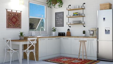 Boho Kitchen - Kitchen - by lovedsign