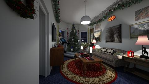 Christmas in the City - Living room - by SammyJPili