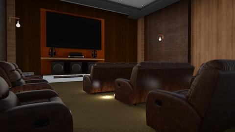 Home Cinema - by ZuzanaDesign