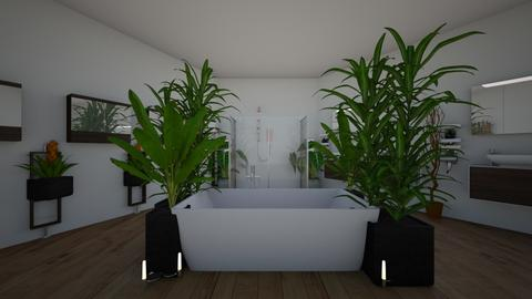 Plantation bathroom  - Modern - Bathroom - by neha123