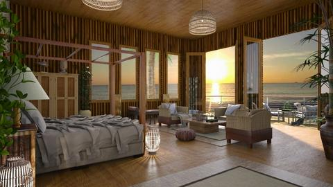 Design 419 Bamboo Beach Life - Bedroom - by Daisy320