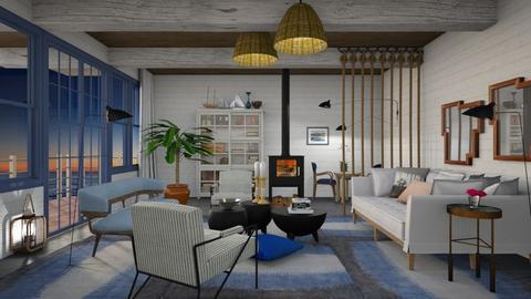 Nautical Attempt - Modern - Living room - by 3rdfloor