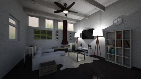 living room 1 - Living room - by Julianatgonzales