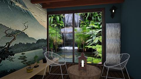 Japanese Art - Modern - Living room - by namiramorell7