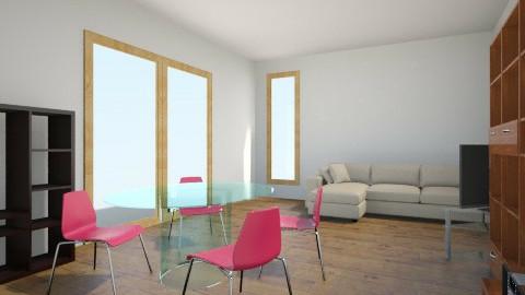 Salone libreria buchi sn living room by jasmincat