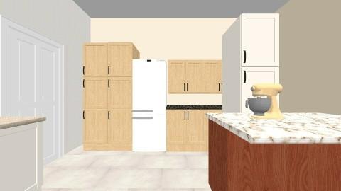 koris kitchen  - Country - Kitchen - by talialodaya